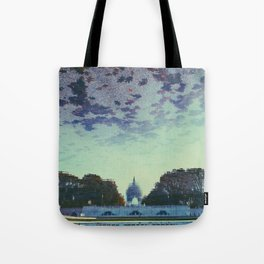 Reflecting On the Capital Tote Bag