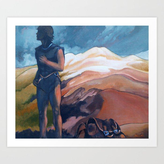 The Journey : Mt Ruapehu Art Print