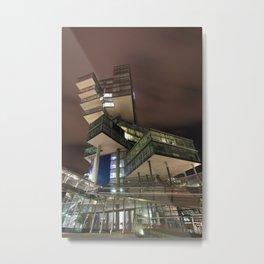 Nord/LB Hanover at Night Metal Print
