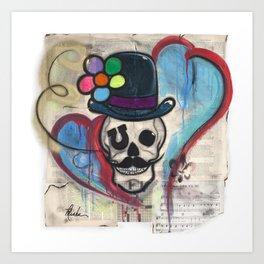 Carnie boy forever Art Print