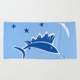 Wish on a Fish Beach Towel