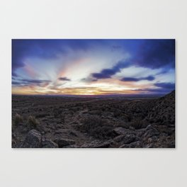 New Mexico Blues.... Canvas Print