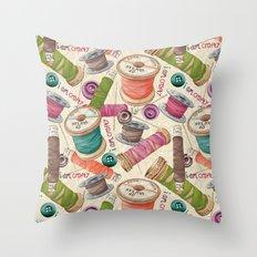 I Am Crafty Throw Pillow