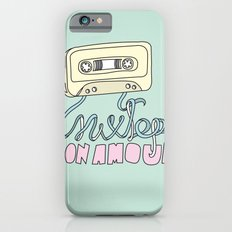 Mixtape mon amour iPhone 6 Slim Case