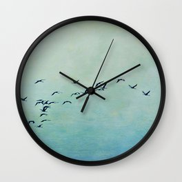 Journey begins Wall Clock