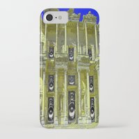 old school iPhone & iPod Cases featuring Old School by Nicholas Bremner - Autotelic Art