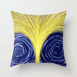 Light Uncontainable - Golden Light 2 Throw Pillow