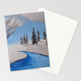 Fire by the Creek Stationery Cards