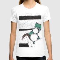drum T-shirts featuring Drum Man by Meagan Harman