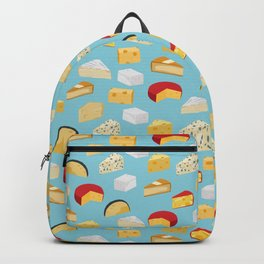 Cheese food gifts food fight apparel and gifts Backpack