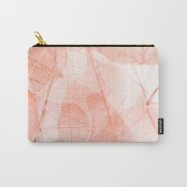 Sun Bleached Apricot Carry-All Pouch