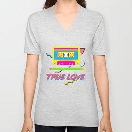 80s True Love Unisex V-Neck