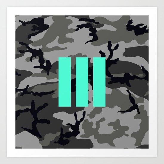 Military - Camouflage Art Print
