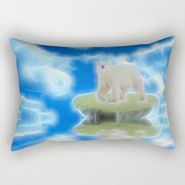 Melting Polar Ice  Rectangular Pillow
