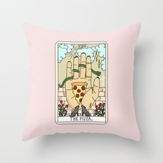 PIZZA READING Throw Pillow
