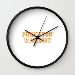 Princeton Waitlist Wall Clock
