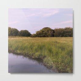 Purple river Metal Print