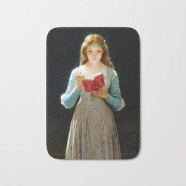 """Pierre Auguste Cot """"Ophelia"""" Bath Mat"""