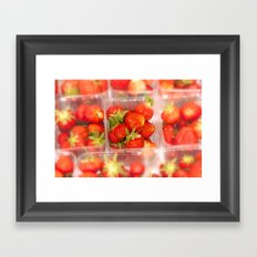 Strawberrys Framed Art Print