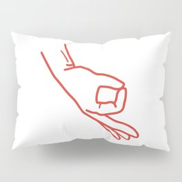 Made You Look Funny Boys Hand Circle Game Tees Pillow Sham