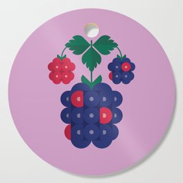 Fruit: Blackberry Cutting Board