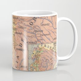 Vintage Map of Ecuador (1913) Coffee Mug