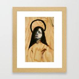 Wood Grief Framed Art Print