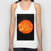 apollo Tank Tops featuring Apollo by mkpowellart