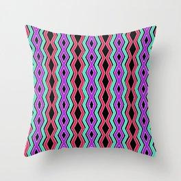 Bright Cheveron Throw Pillow