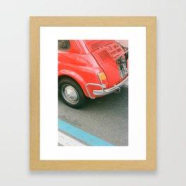 positano wheels Framed Art Print
