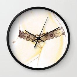 hot pearls Wall Clock