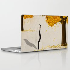 u n  a u t u n n o p e r p l e s s o Laptop & iPad Skin
