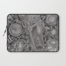 waste of time Laptop Sleeve