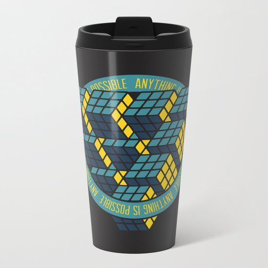Anything is Possible Metal Travel Mug