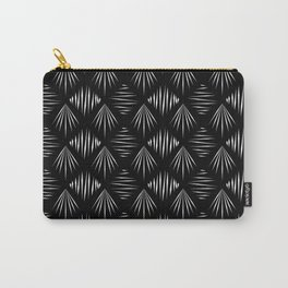 Black and White Pattern II Carry-All Pouch