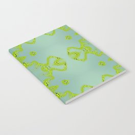 Yellow lace Notebook