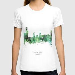 Ipswich England Skyline T-shirt