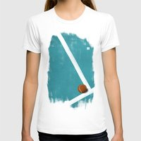 tennis T-shirts featuring Tennis by Matt Irving