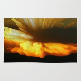 Sunset Abstract Rug