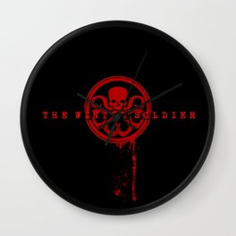 The Winter Soldier - Hydra Logo (plain) Wall Clock