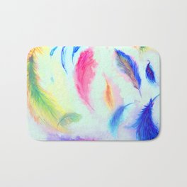 Feathers in the Wind Bath Mat