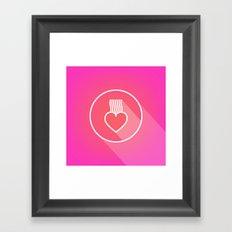 Icon No.2. Framed Art Print