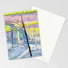 Kameido Tenjin In May - Digital Remastered Edition Stationery Cards