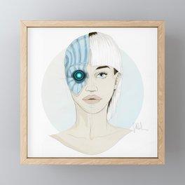 Cyborg Framed Mini Art Print