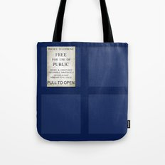 Pull to open! Tote Bag