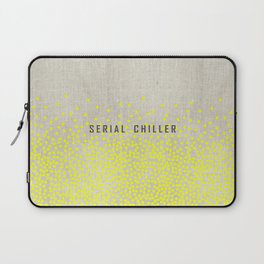 Serial Chiller on Confetti Laptop Sleeve