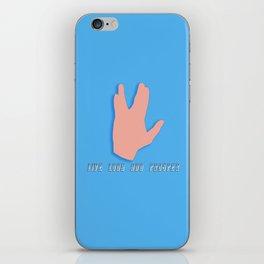Spock iPhone Skin