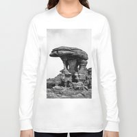 conan Long Sleeve T-shirts featuring Rock by Julio O. Herrmann