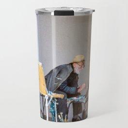 Old painter Travel Mug