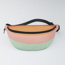Vintage Rainbow Fanny Pack